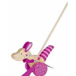 Drewniana zabawka do pchania, kangurek Susibelle