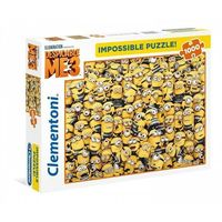 Puzzle, Puzzle 1000 Impossible Puzzle High Quality Collection Minionki - Clementoni