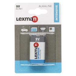 Bateria ALKALICZNA INTENSIVE 6LR61 9V 1 SZT. LEXMAN