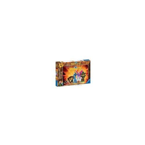 Puzzle, Puzzle Ravensburger 108053 Gormity w akcji 100el. /94099