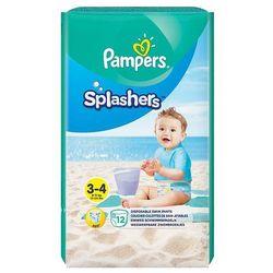 Pampers Splashers, R3-4, 12 jednorazowych pieluch do pływania