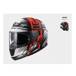 KASK LS2 FF320 STREAM BANG BLACK RED