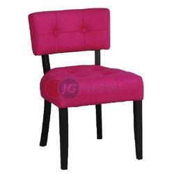 Krzesło bez podłokietnika z guzikami Buk Paged A-9440g