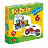 Pozostałe zabawki dla najmłodszych, Alexander Puzzle dla maluszków Lokomotywa