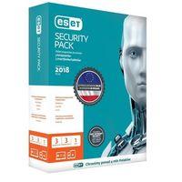 Oprogramowanie antywirusowe, ESET Security Pack 3 PC + 3 smartfony 2 lata BOX (ESP-N3D2Y) Szybka dostawa! Darmowy odbiór w 20 miastach!