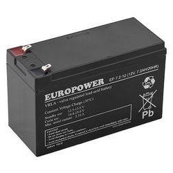 Akumulator AGM Europower EP 7,2-12 T2 (12V 7,2Ah)