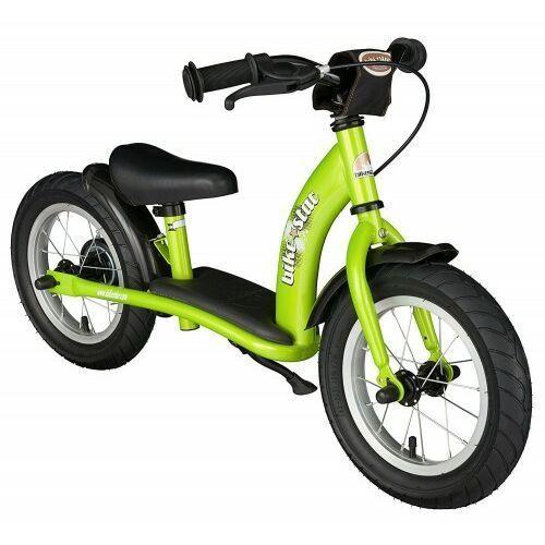 """Rowerki biegowe, Rowerek biegowy 12"""" XL BIKESTAR GERMANY classic zielony"""
