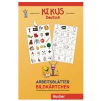 Książki do nauki języka, Kikus Deutsch. Arbeitsblatter Bildkartchen (opr. miękka)