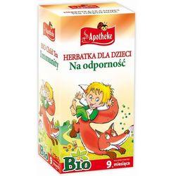 Apotheke BIO Herbatka dla dzieci na odporno, 20 torebek