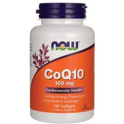 Now Foods CoQ10 100 mg 150kaps