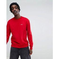 Brixton Westchester Sweatshirt With Script Logo - Silver