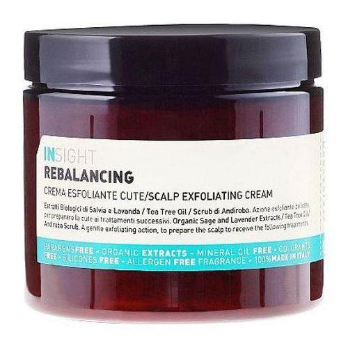 Inne kosmetyki do włosów, InSight REBALANCING SEBUM SCALP EXFOLIATING CREAM Peeling do przetłuszczającej się skóry głowy