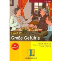 Książki do nauki języka, Leichte Lekture Grosse Gefuhle z płytą CD - książka (opr. broszurowa)