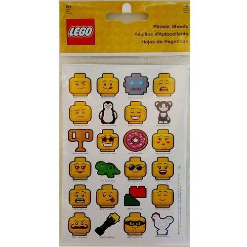 Naklejki, 51163 ZESTAW NAKLEJEK LEGO - LEGO GADŻETY