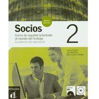 Książki do nauki języka, Socios 2 Cuaderno De Ejercicios Z Płytą Cd (opr. miękka)