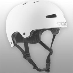 kask TSG - Evolution Youth Injected Color Injected White (157) rozmiar: XXS/XS