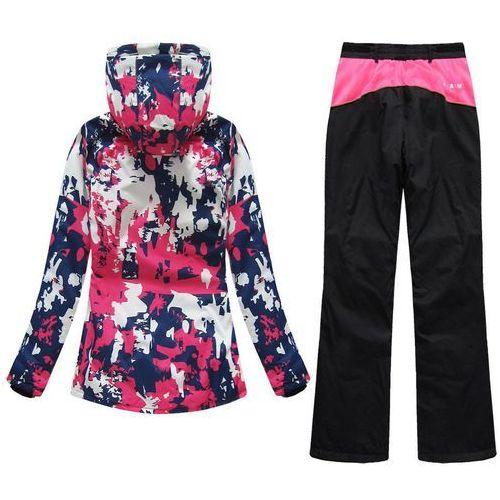 Spodnie damskie, ZESTAW NARCIARSKI KURTKA + SPODNIE (W183 I QS189)