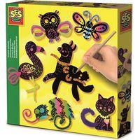 Kreatywne dla dzieci, Kreatywna zabawa - Zwierzątka zdrapywanki