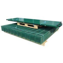 vidaXL Panele ogrodzeniowe 2D z słupkami 2008x1030 mm 24 m Zielone Darmowa wysyłka i zwroty