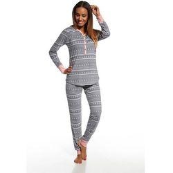 Cornette piżama damska 643/111 stars 5 grafitowy