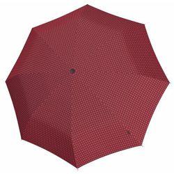 Knirps T200 Duomatic Parasolka składana 28 cm 2Cross red ZAPISZ SIĘ DO NASZEGO NEWSLETTERA, A OTRZYMASZ VOUCHER Z 15% ZNIŻKĄ