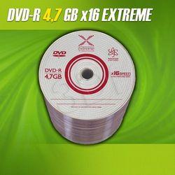 DVD-R Extreme 4.7GB 16xSpeed (Cake 10szt)- TOWAR ZAMÓWIONY DO 17:00 WYŚLEMY JESZCZE DZISIAJ!!!
