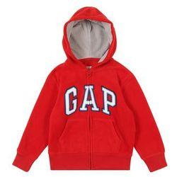 GAP Bluza rozpinana 'PFARCHHOOD' czerwony