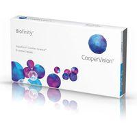 Soczewki kontaktowe, Cooper Vision Biofinity 3 szt.