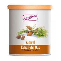 Pozostałe filmy, Depileve NATURAL EXTRA FILM WAX Wosk do depilacji bezpaskowej - naturalny (800 g.)