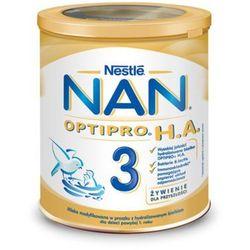 NESTLE NAN OPTIPRO HA 3 800g Mleko modyfikowane w proszku Hipoalergiczne Dla dzieci od 1 roku Puszka