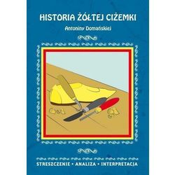 HISTORIA ŻÓŁTEJ CIŻEMKI ANTONINY DOMAŃSKIEJ STRESZCZENIE ANALIZA INTERPRETACJA (opr. miękka)