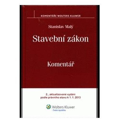 Pozostałe książki, Stavební zákon. Komentář Stanislav Malý