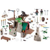 Klocki dla dzieci, Playmobil DRAGONS Dragons wyspa berk 9243