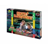 Pozostałe zabawki edukacyjne, SEKRETY ELEKTRONIKIPONAD 500 DOŚWIACZEŃ