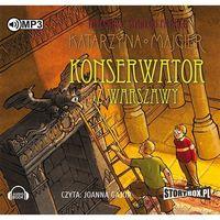 Książki kryminalne, sensacyjne i przygodowe, Tajemnice starego pałacu Konserwator z Warszawy