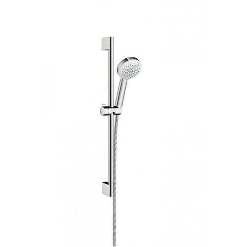 Crometta Hansgrohe zestaw prysznicowy crometta 100 1jet 065 m biały/chrom - 26652400