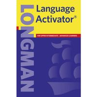 Słowniki, encyklopedie, Longman Language Activator (opr. miękka)