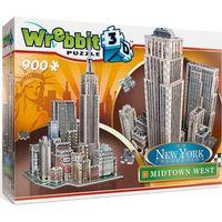Puzzle, Puzzle 3D Wrebbit New York Midtown West 900
