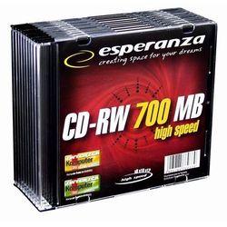 CD-RW ESPERANZA [ slim jewel case 10 | 700MB |