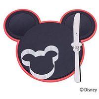 Sztućce dla dzieci, WMF - Mickey Mouse zestaw deski do krojenia z nożykiem i foremką do ciasta