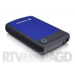 Transcend StoreJet H3B 1TB USB 3.0 (niebieski) - produkt w magazynie - szybka wysyłka!