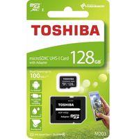 Karty pamięci, Karta pamięci z adapterem MicroSDXC Toshiba 128GB Class 10 THN-M203K1280EA
