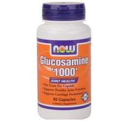Now Foods Glucosamine 1000 - Glukozamina 60 kaps.