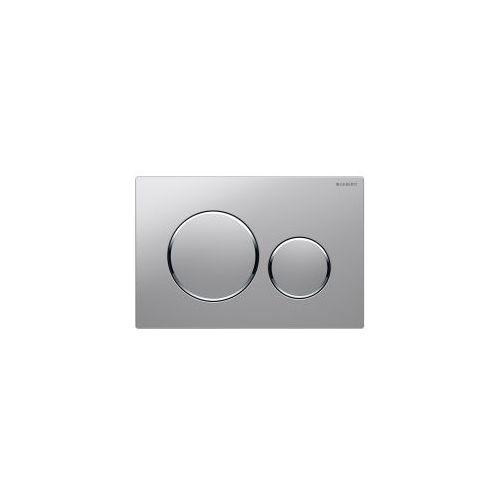 Geberit przycisk uruchamiający sigma 20 chrom mat/chrom błyszczący/chrom mat 115.882.kn.1