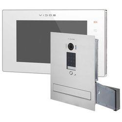 Wideodomofon skrzynka na listy z szyfratorem Vidos S1401D-SKM M1021W-2