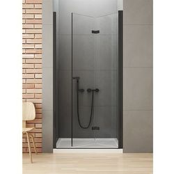 Drzwi prysznicowe 90 cm D-0224A New Soleo Black New Trendy