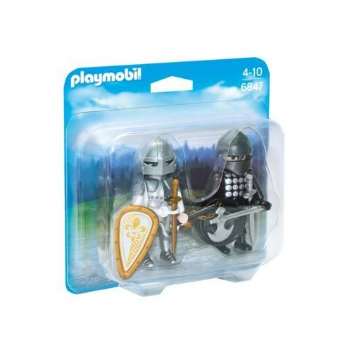 Klocki dla dzieci, Playmobil KNIGHTS Duo pack - pojedynek rycerzy 6847