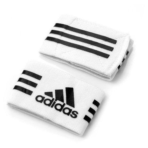 Piłka nożna, Opaski podtrzymujące na getry Adidas 604433 białe