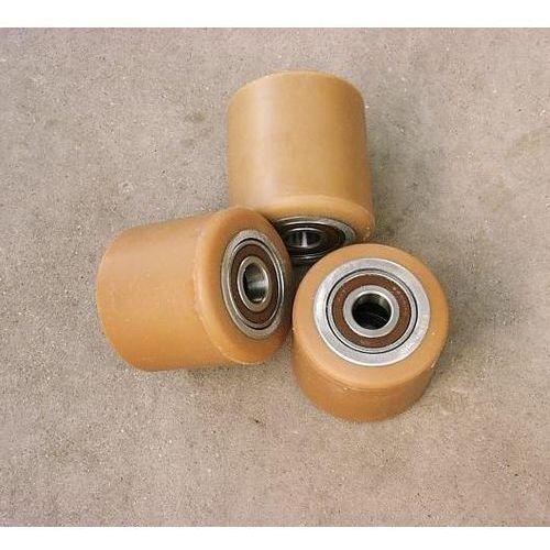 Pozostałe akcesoria do narzędzi, ROLKA metalowo-poliuretanowa do wózka paletowego 80 x 80 mm