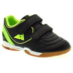 Dziecięce buty sportowe/ halówki American Club 28/20 Limonka - Zielony ||Czarny